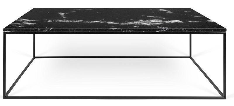 Gleam Sofabord - Sort - 120 cm