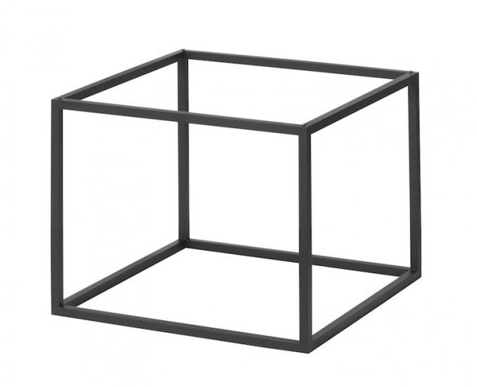 by Lassen - Base til Frame 35 - Sort metal