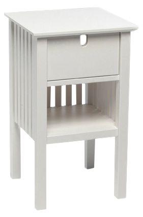 Mavis - Fjälbacka Sengebord - Hvid - Sengebord fra Mavis i hvid