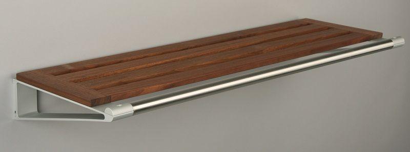 KNAX Hattehylde - 80 cm - Valnød