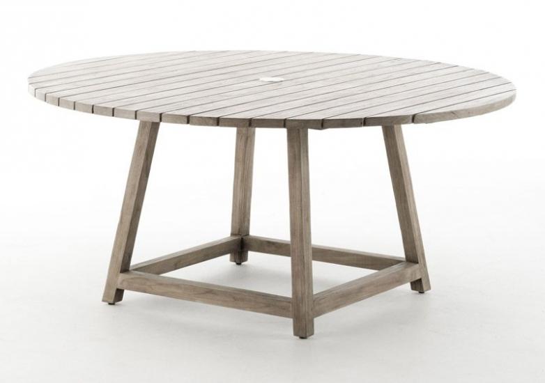 Sika-Design George Teak Havebord - Ø160 - Teak by Sika