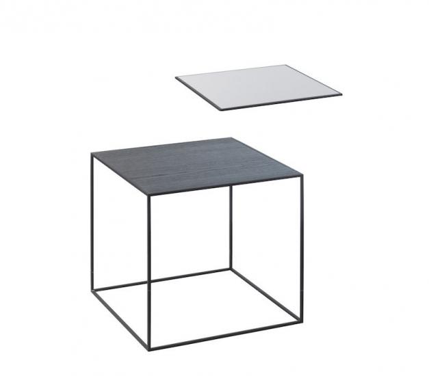 by Lassen - Twin 35 Sidebord - Sort Ask/Cool grey