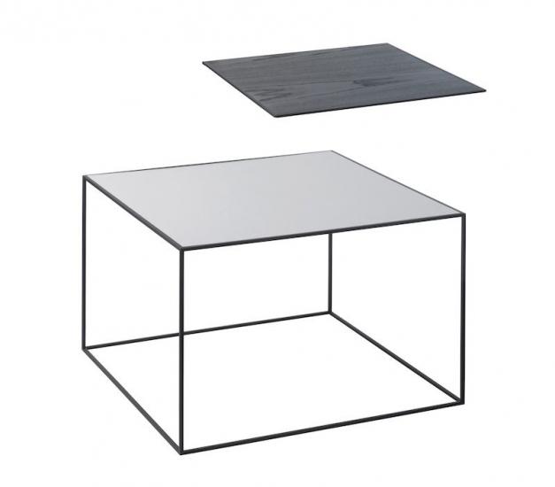 Fremragende by Lassen - Twin 49 Sofabord - Sort/Cool grey - Gratis fragt UY83