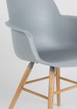 Zuiver Albert Kuip Spisebordsstol m/armlæn