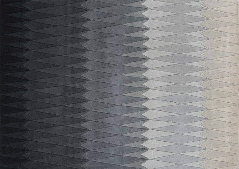 Linie Design Acacia Tæppe - Grå - 140x200 - 140x200 cm