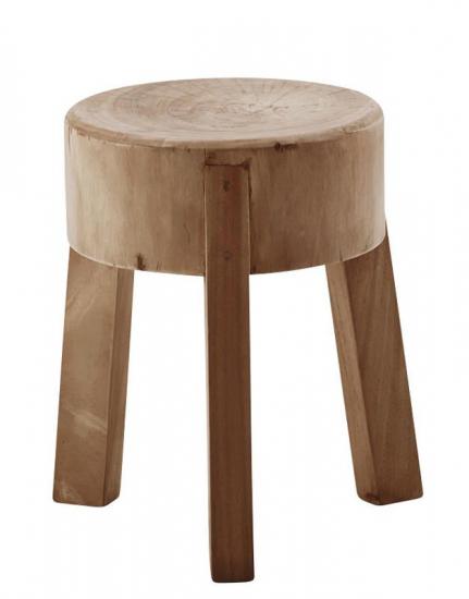 Sika-Design Roger Skammel - Suar træ - Classic by Sika