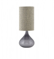 House Doctor MED Bordlampe i grå glas