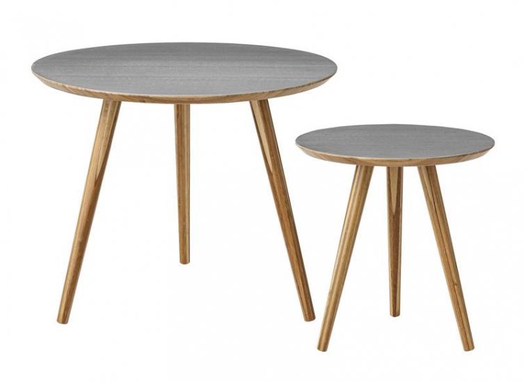 Bloomingville Cortado Sofabord - Grå - Sofaborde i grå og bambus