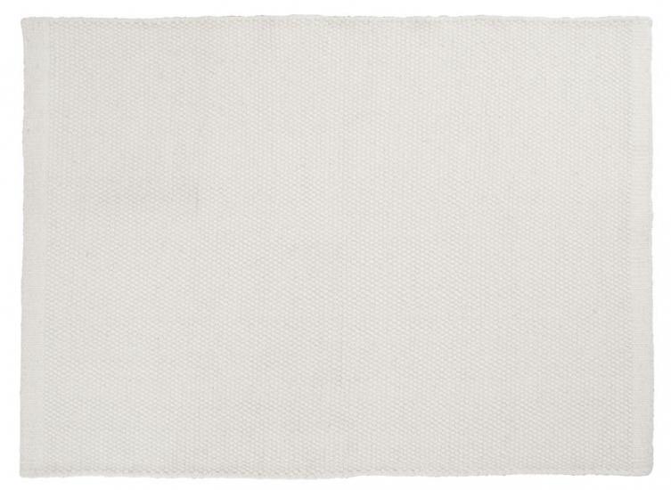 Linie Design Asko Tæppe - Hvid - 70x140 - 70x140 cm