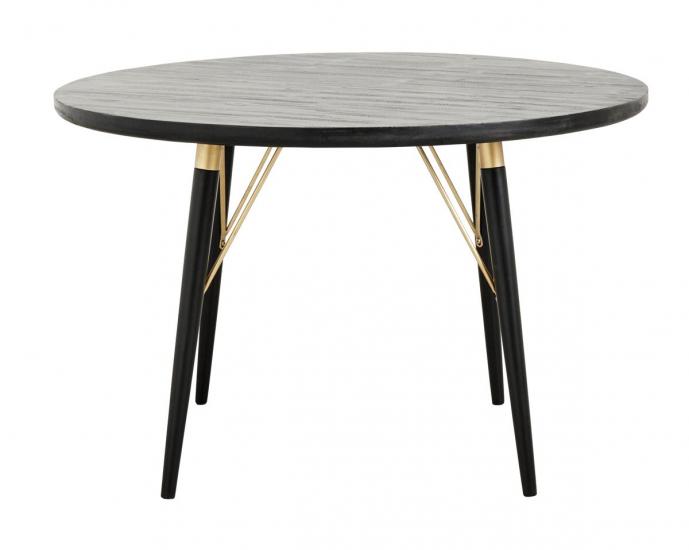 Nordal - Spisebord Ø120 - Træ/Jern