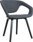 Flex Back Spisebordsstol - Mørkegrå