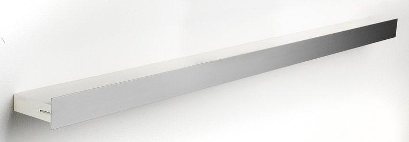 Hoigaard Design Gallerihylde  - Hvid - SR-98 med aluminiumskant - bred