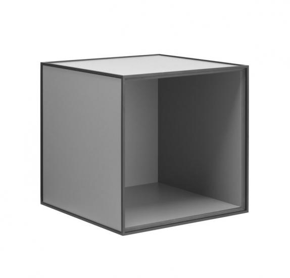 by Lassen - Frame 35 - Mørk grå - Reol i mørkegrå