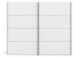 Verona Garderobeskab - Hvid B:242 - Skabsmodul i hvid