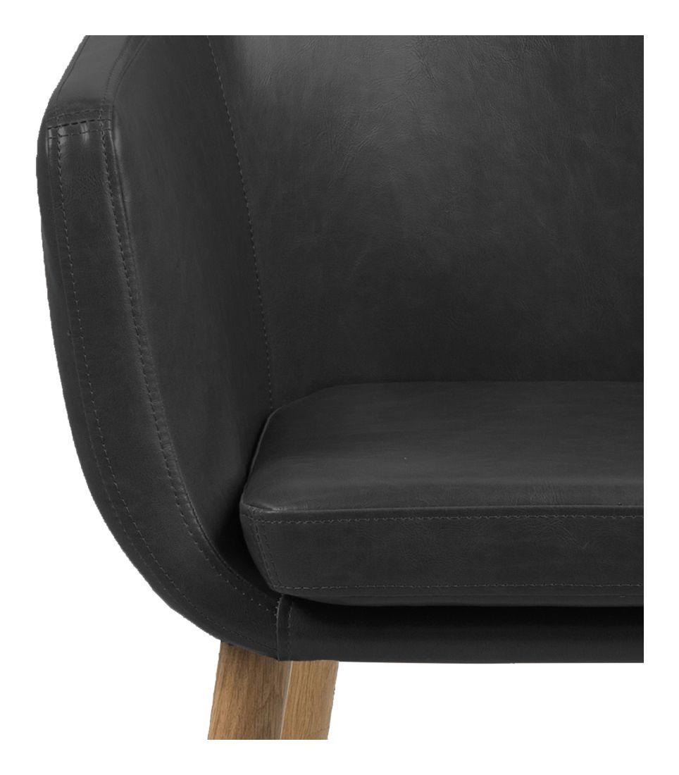 Amada Spisebordsstol - Sort - Sort spisebordsstol