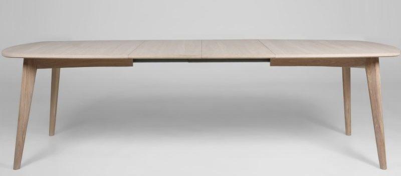 Aliva Spisebord - Hvid - Hvidolieret spisebord