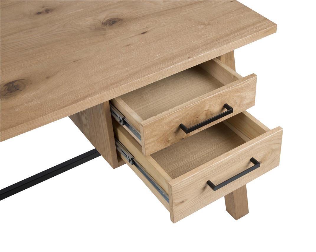 Aloha Skrivebord - Lakeret Egefinér - Brunt skrivebord i træ
