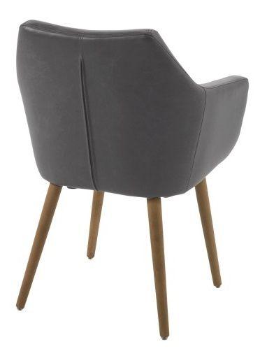 Amada Spisebordsstol - Antracit - Spisebordsstol i antracitgrå