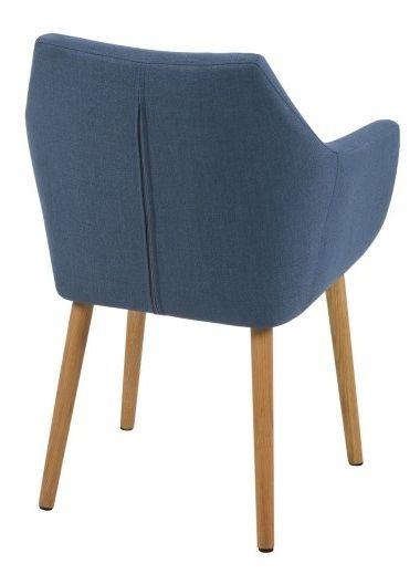 Amada Spisebordsstol - Blå - Mørkeblå spisebordsstol