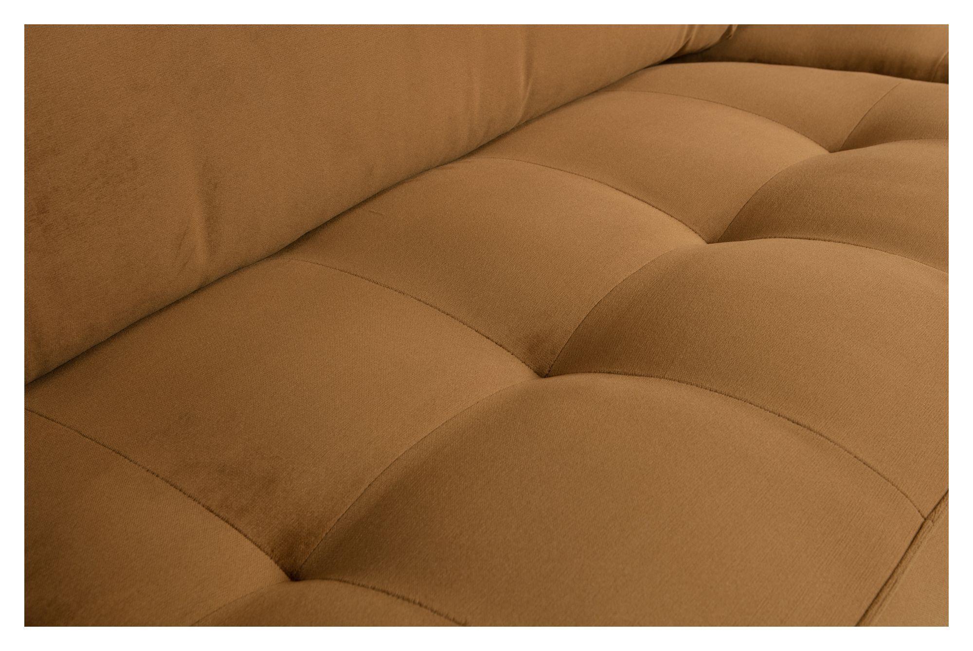 Rodeo Classic 3-pers. Sofa - Honninggul Velour