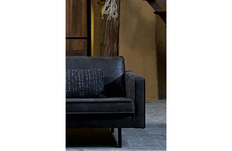 Rodeo Lænestol i øko-læder - Sort