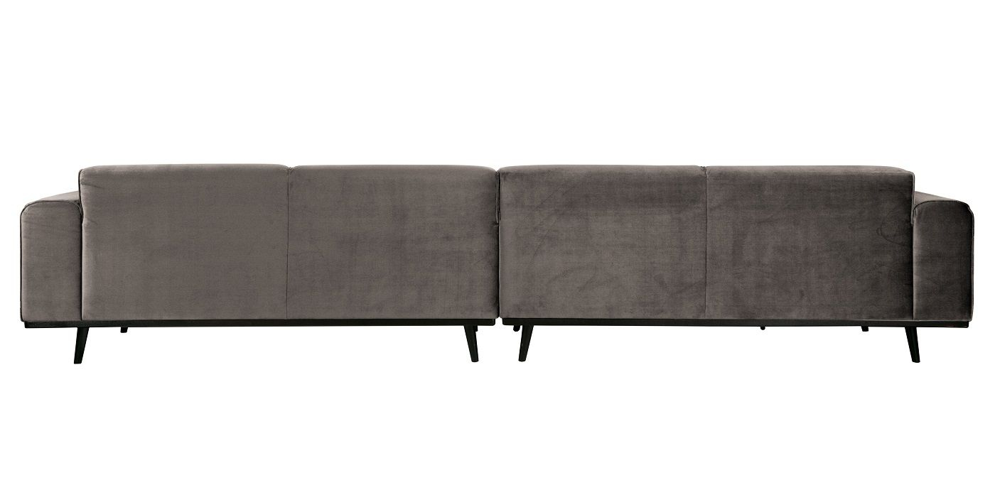 Statement Sofa XL 4-pers. - Taupe velour