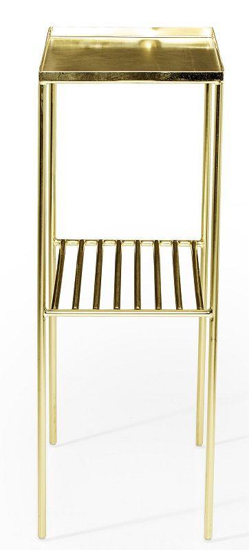 Bloomingville Gridd Sidebord - Guld - Sidebord i guldmetal