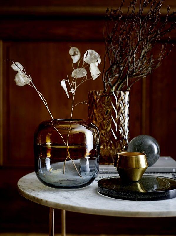 Bloomingville - Eva Sofabord - Marmor look - Sofabord i marmor look