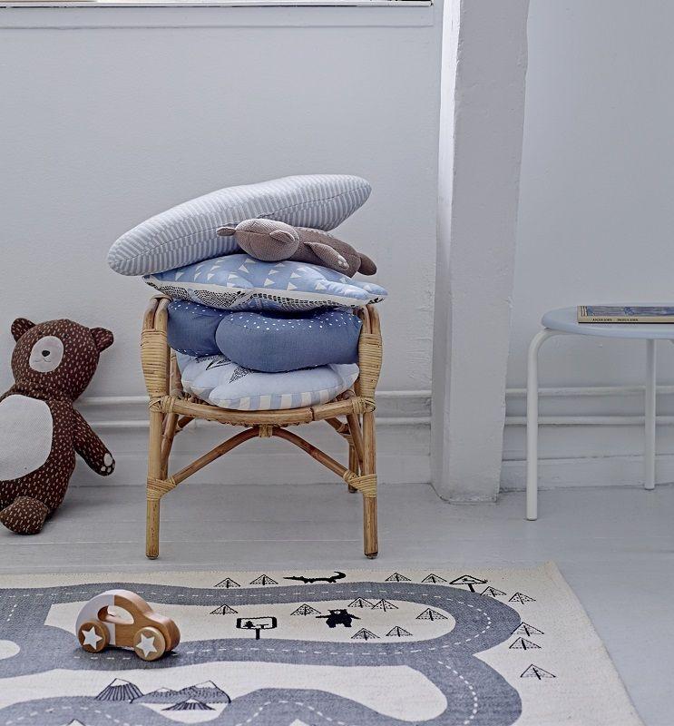 Bloomingville Mini Børnetilbehør - Offwhite - 100 x 150 cm