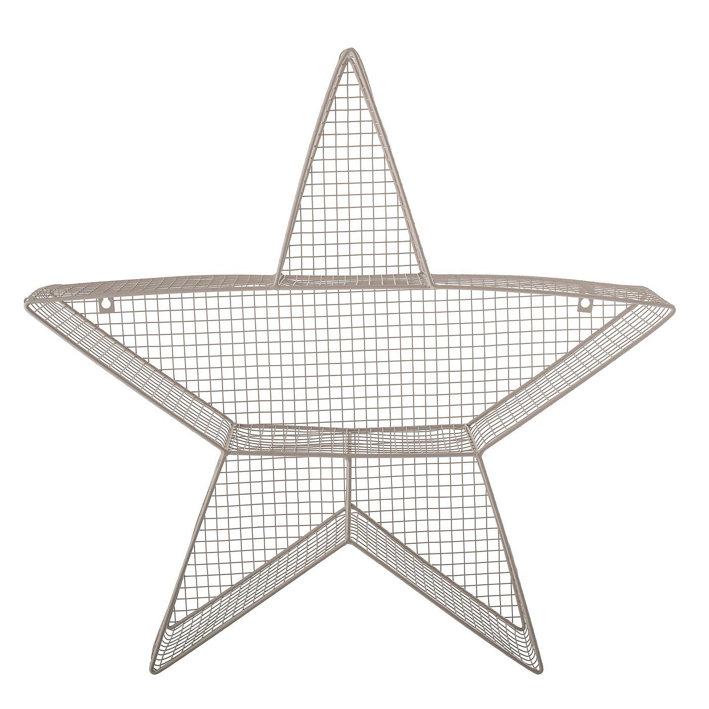 Bloomingville Mini Hylde i metal - Stjerne