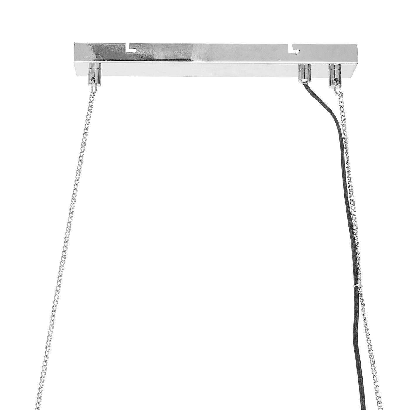 Bloomingville Pendel L110 - Sølvfarvet metal