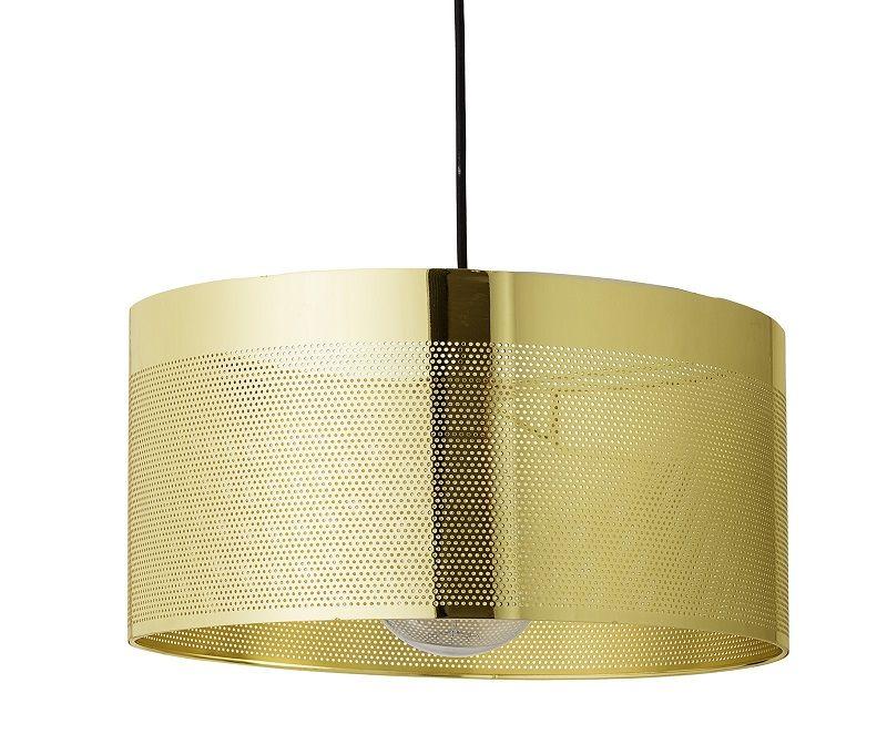 Bloomingville Pendel Ø40 - Guld - Guldfarvet pendel