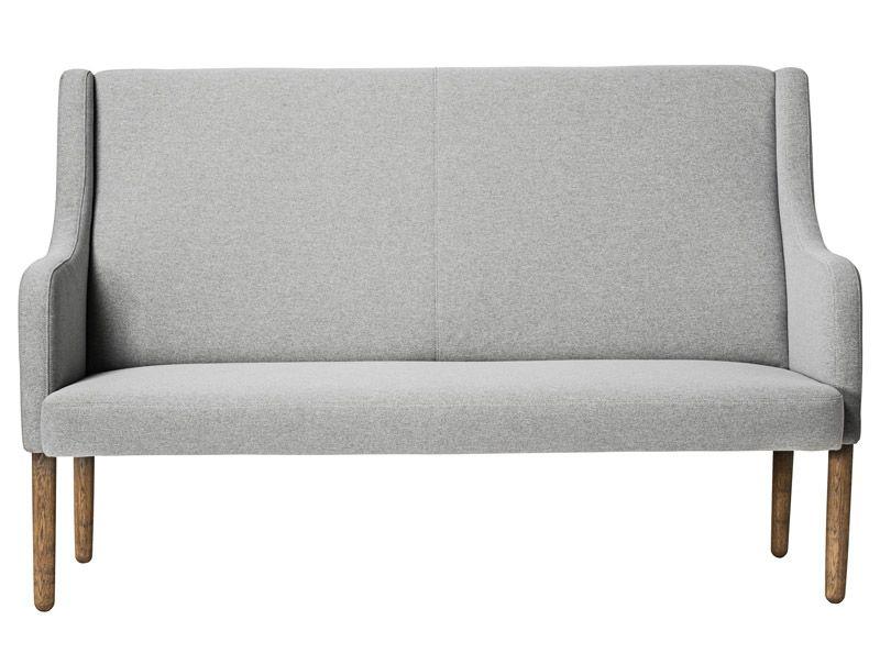 Bloomingville Rest 2-pers. sofa - Grå - Lysegrå sofa