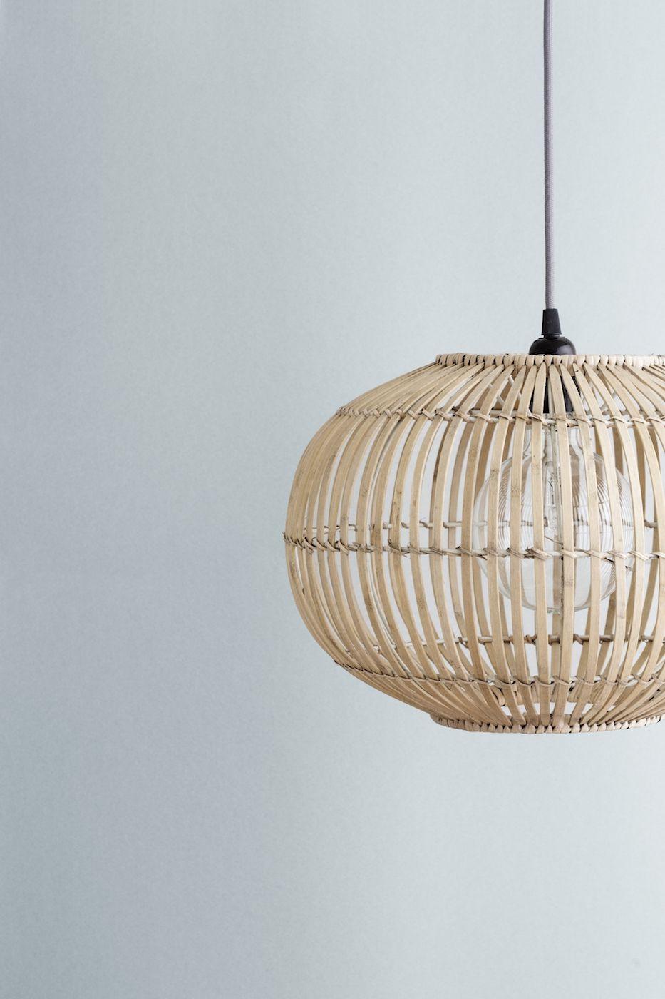 Zep Lampeskærm Ø38 - Bambus - BROSTE COPENHAGEN