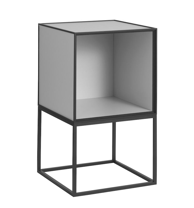 by Lassen - Base til Frame 49 - Sort metal - Ramme til Frame modul