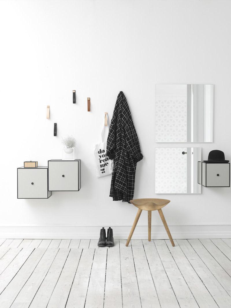 by Lassen - Frame 35 - Hvid - Reol i hvid