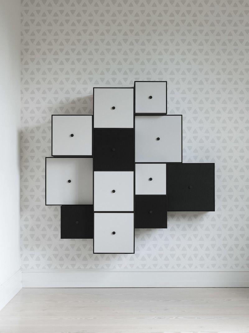 by Lassen - Frame 35 - Lys grå - Reol i lysegrå