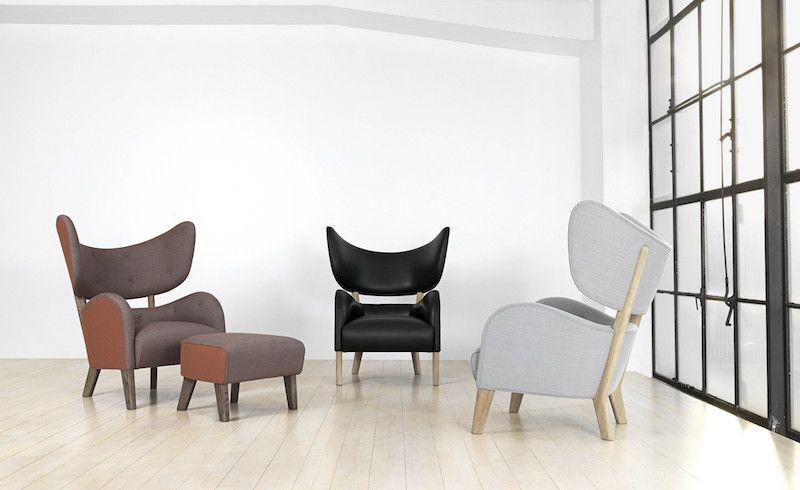 by Lassen - My Own Chair Lænestol - Sort læder - Lænestol i sort læder