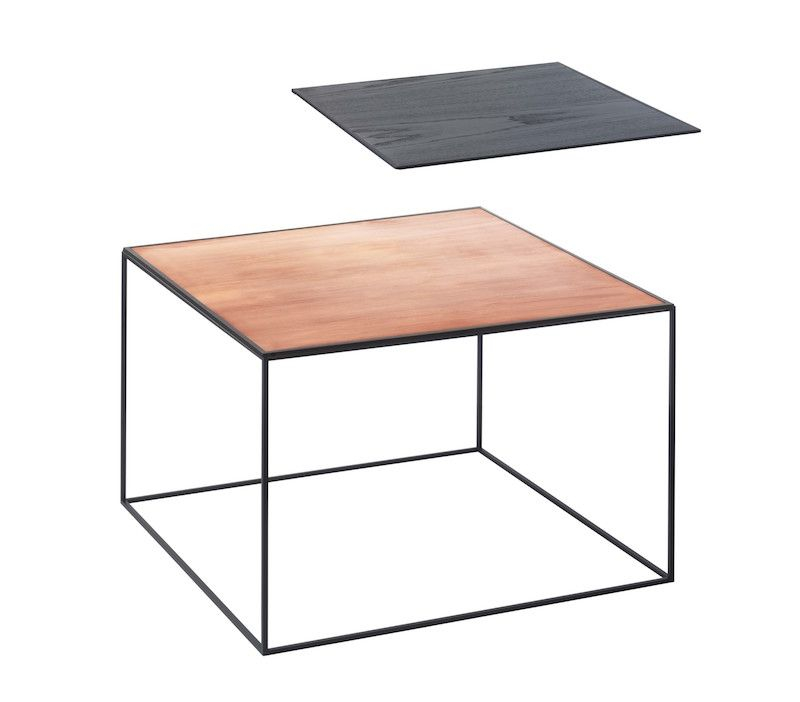 by Lassen - Twin 49 Sofabord - Sort/Kobber - Sofabord i sort og kobber