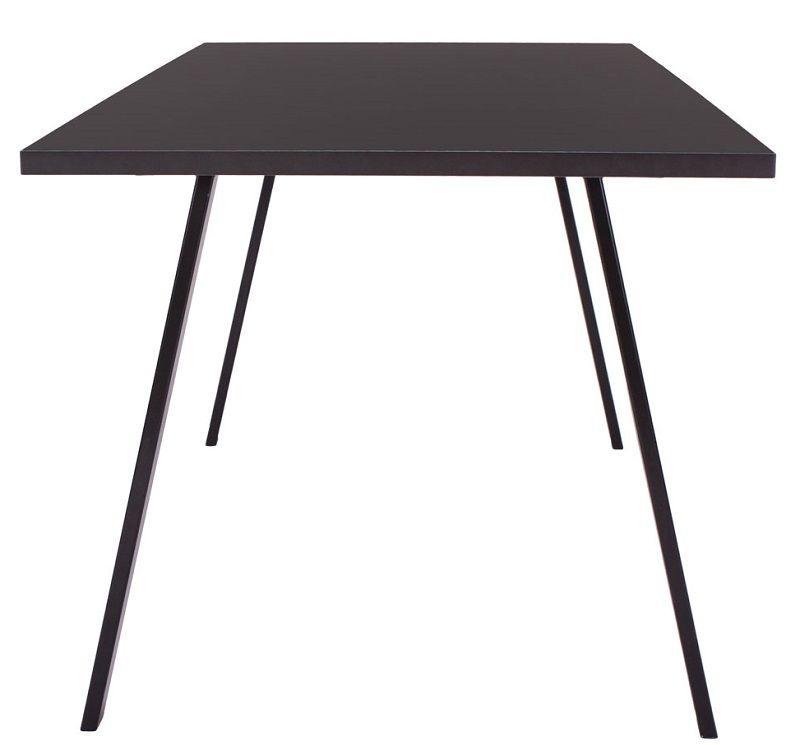 Furnliving Halmstad Spisebord 160x80 - Sort - Spisebord i sort