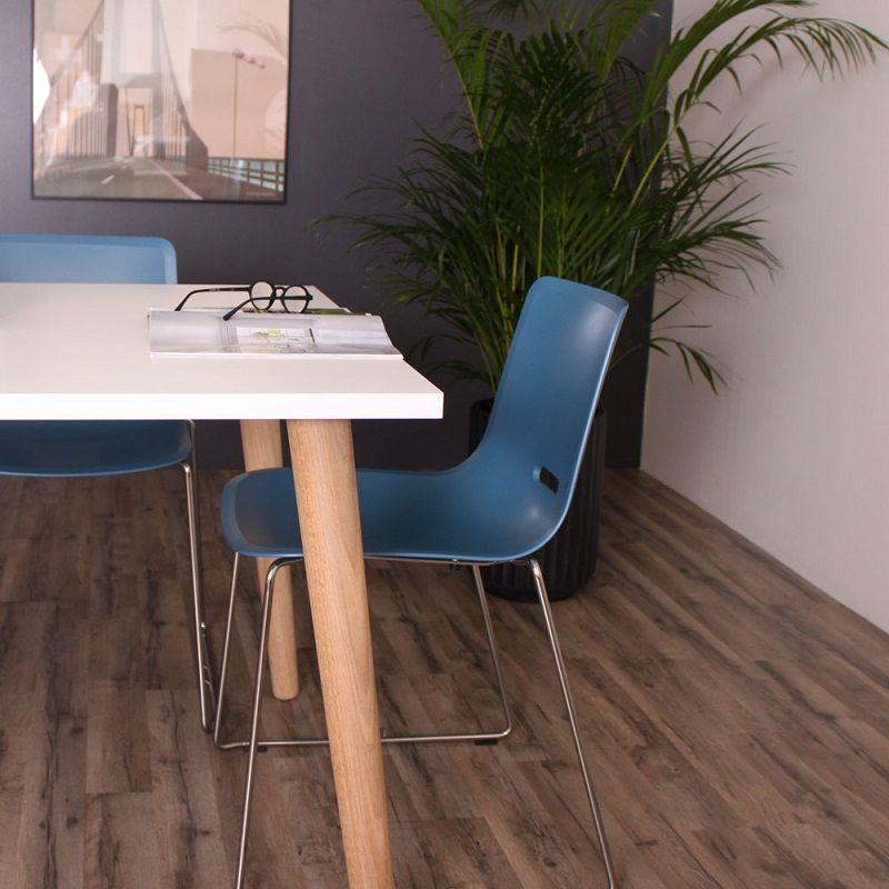 Furnliving Sandefjord Spisebord 200x100 - Hvid - Hvidt spisebord