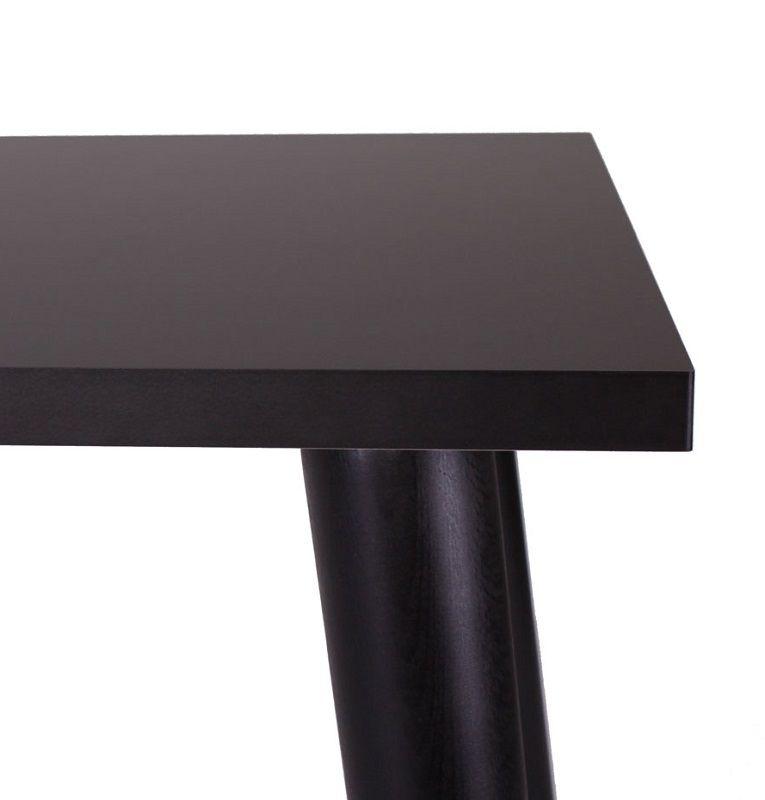 Sandnes Spisebord - Sort - Sort spisebord