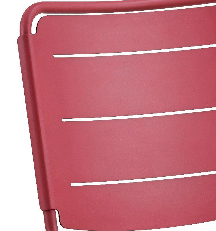 Cane-line - Copenhagen Havestol - Pink - Cane-line Stabelbar havestol