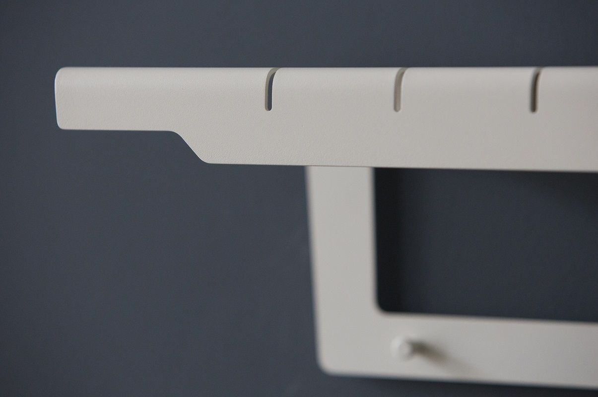 Caneline - Copenhagen Knagerække - Hvid - Cane-line Hvid aluminiumsknagerække