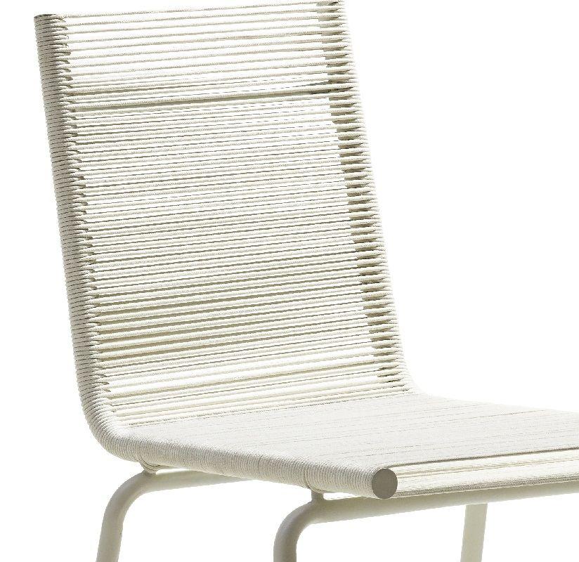 SIDD Spisebordsstol - Hvid - Cane-line Spisebordsstol i hvid