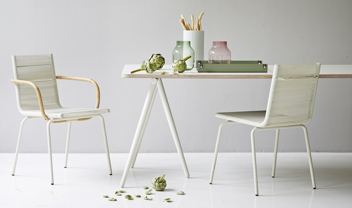 Caneline - SIDD Spisebordsstol - Hvid - Cane-line Spisebordsstol i hvid