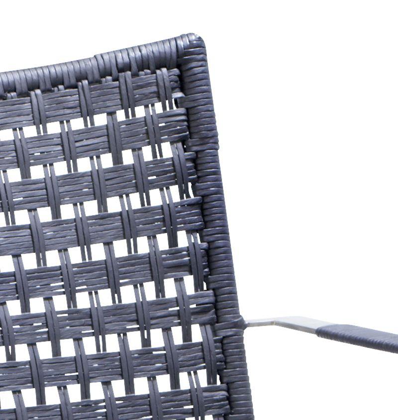 Cane-line - Straw Spisebordsstol m/arm - Sort - Cane-line round weave - indendørs