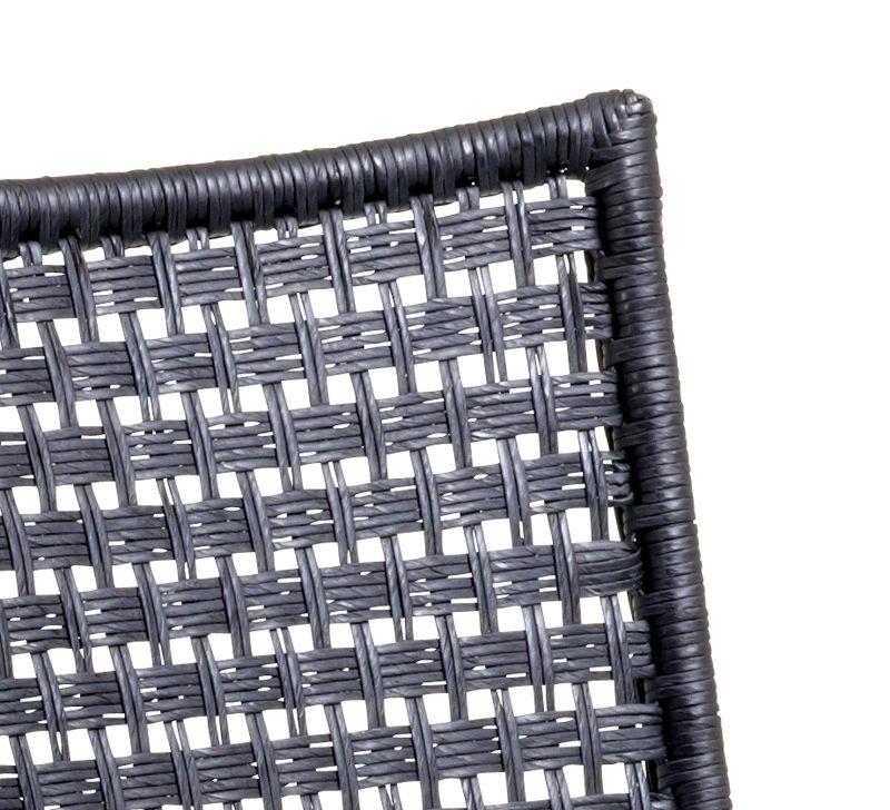 Straw stol u/armlæn - Cane-line flat weave - indendørs