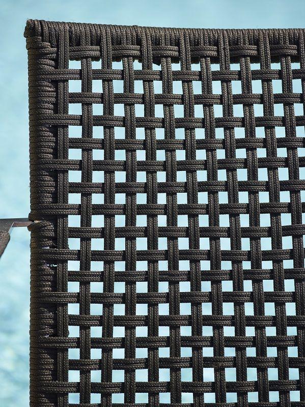 Cane-line - Straw Loungestol - Grå - Cane-line Loungestol udendørs