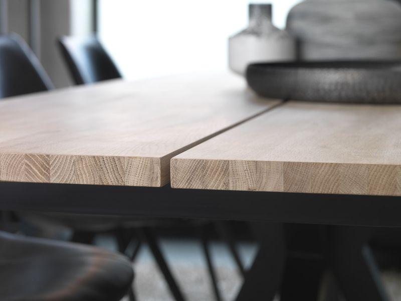 Maison Spisebord 240x100 - Egefiner - Spisebord i egefiner